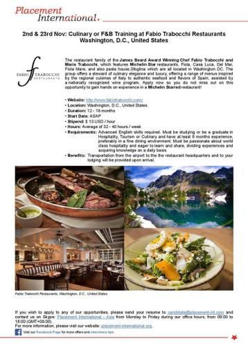 Fabio Trabocchi Restaurants