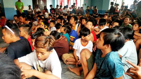 300 Young Boys of Manila Boystown